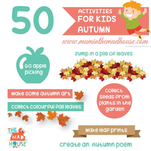 50 Autumn Activities for Kids