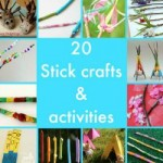 20 Stick Crafts and Activities