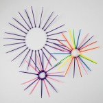 Firework Art – Cable tie firework sculptures
