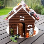 Haunted Gingerbread House – Cooking with kids