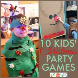 10 Fun Kids Christmas party games