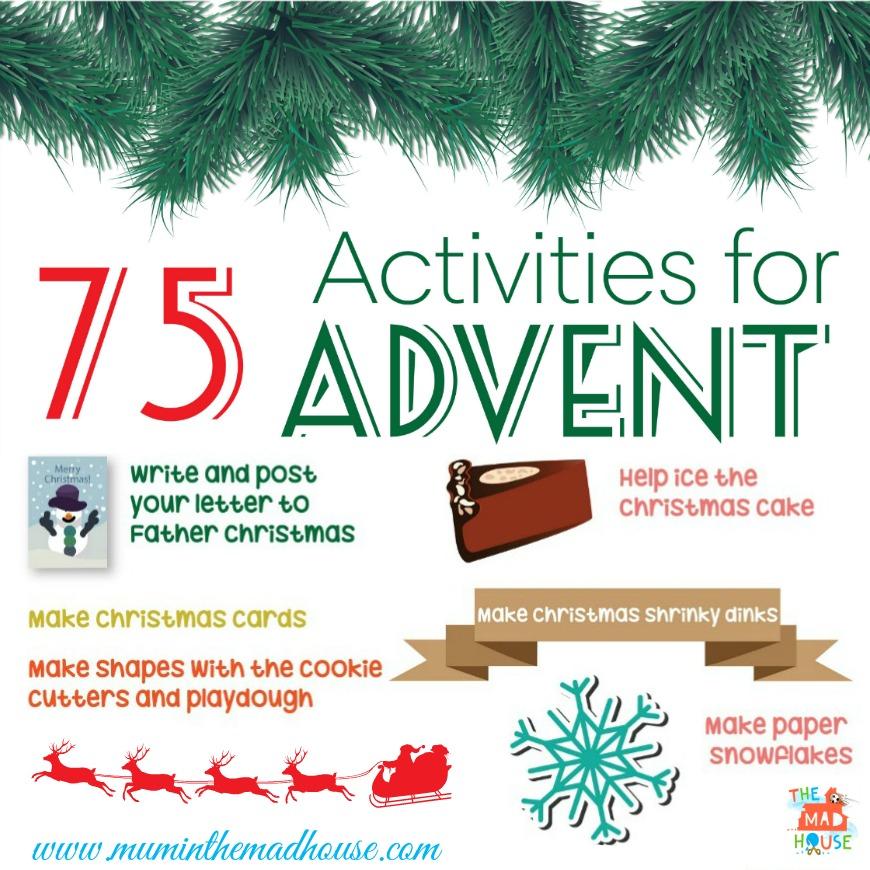 75 actividades para navidad