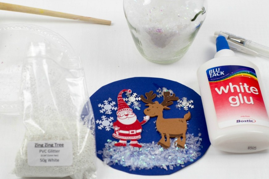 how to make a snow globe for kids