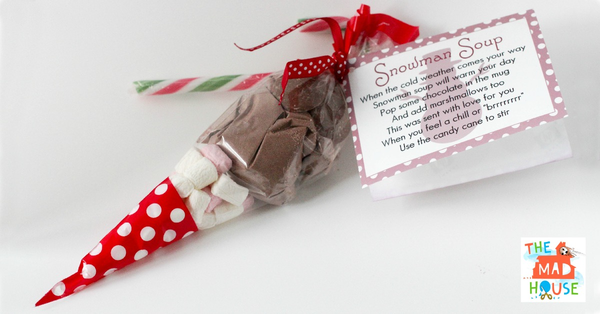 Snowman Soup and free printable labels - Mum In The Madhouse