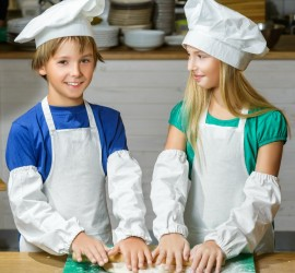 5 Rules for cooking with kids by kids