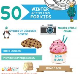 50 winter activities for kids