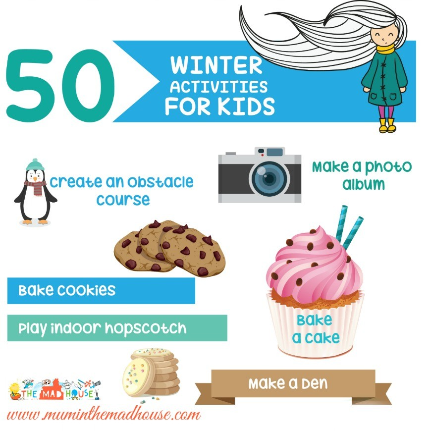 50 winter activities for kids