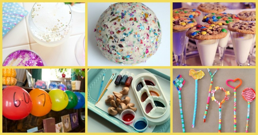 Over 50 New years eve crafts and activities for kids - Mum In The ...