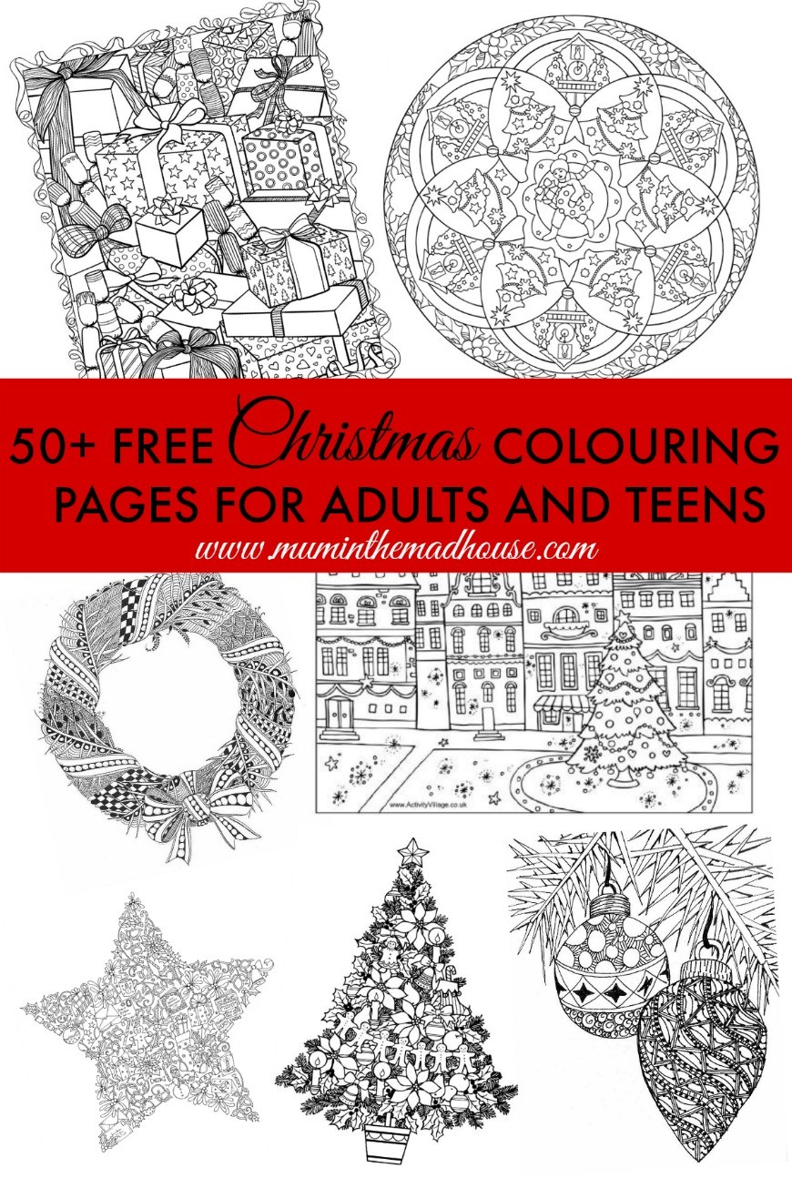 Pictures On Free Christmas Printables For Adults Easy