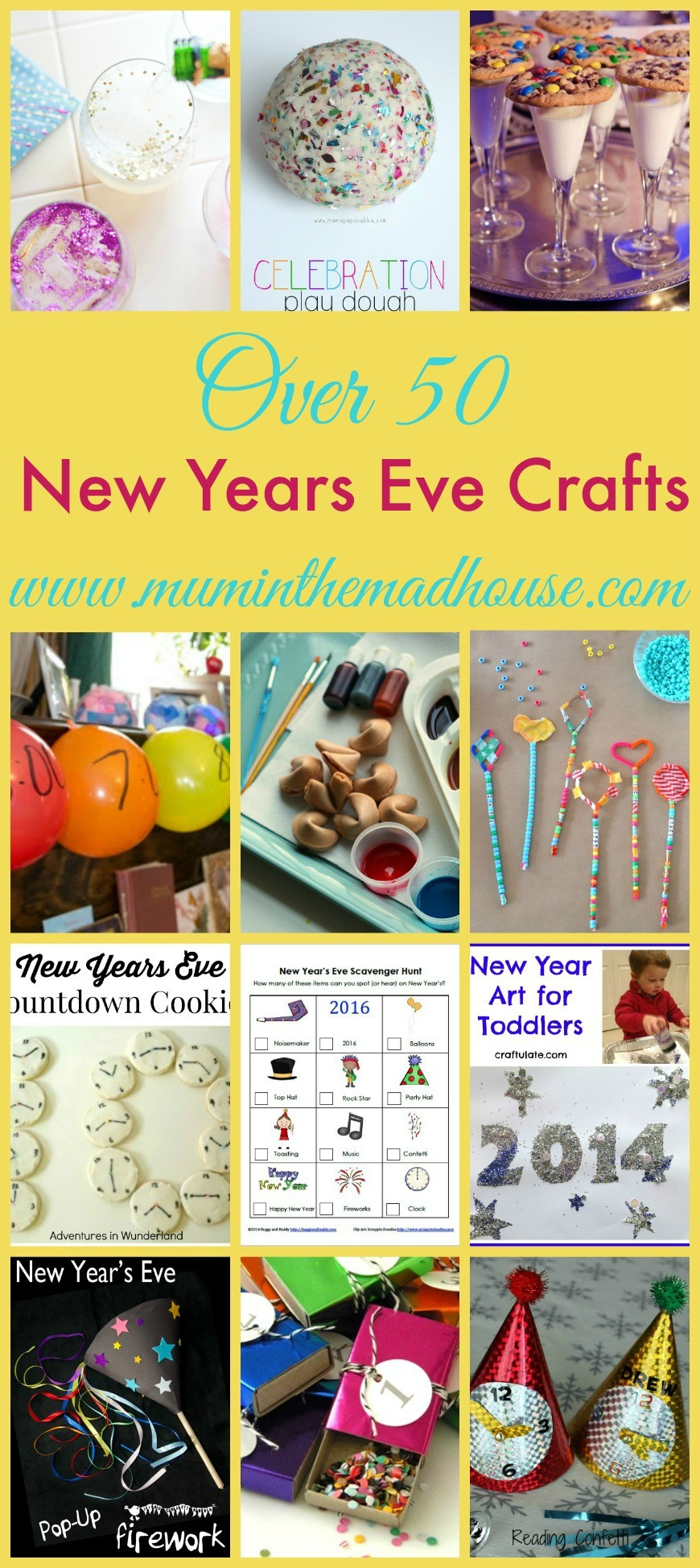 over 50 new years eve crafts and activities for kids mum