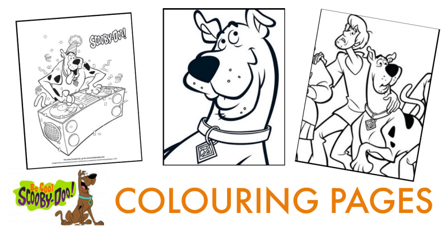 scooby doo coloring pages youtube - photo#3