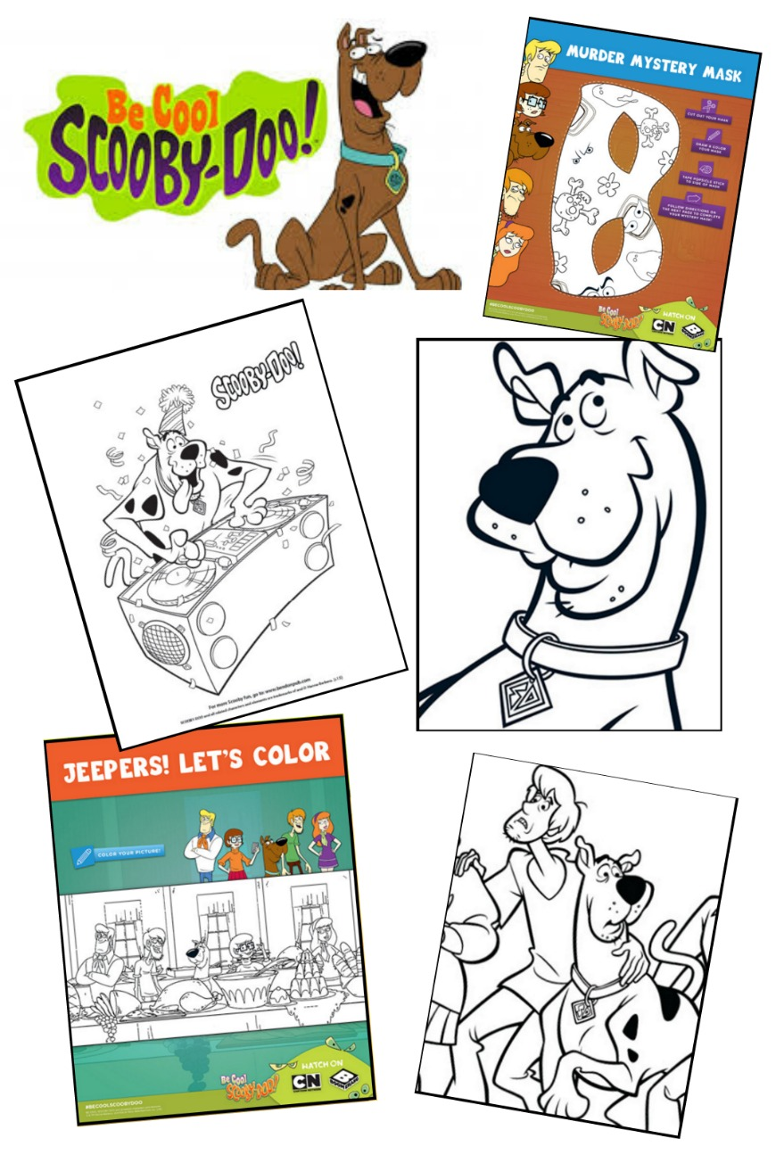 scooby doo coloring pages youtube - photo#10