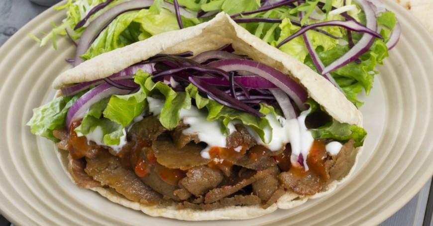 Fakeaway slow cooker doner kebab