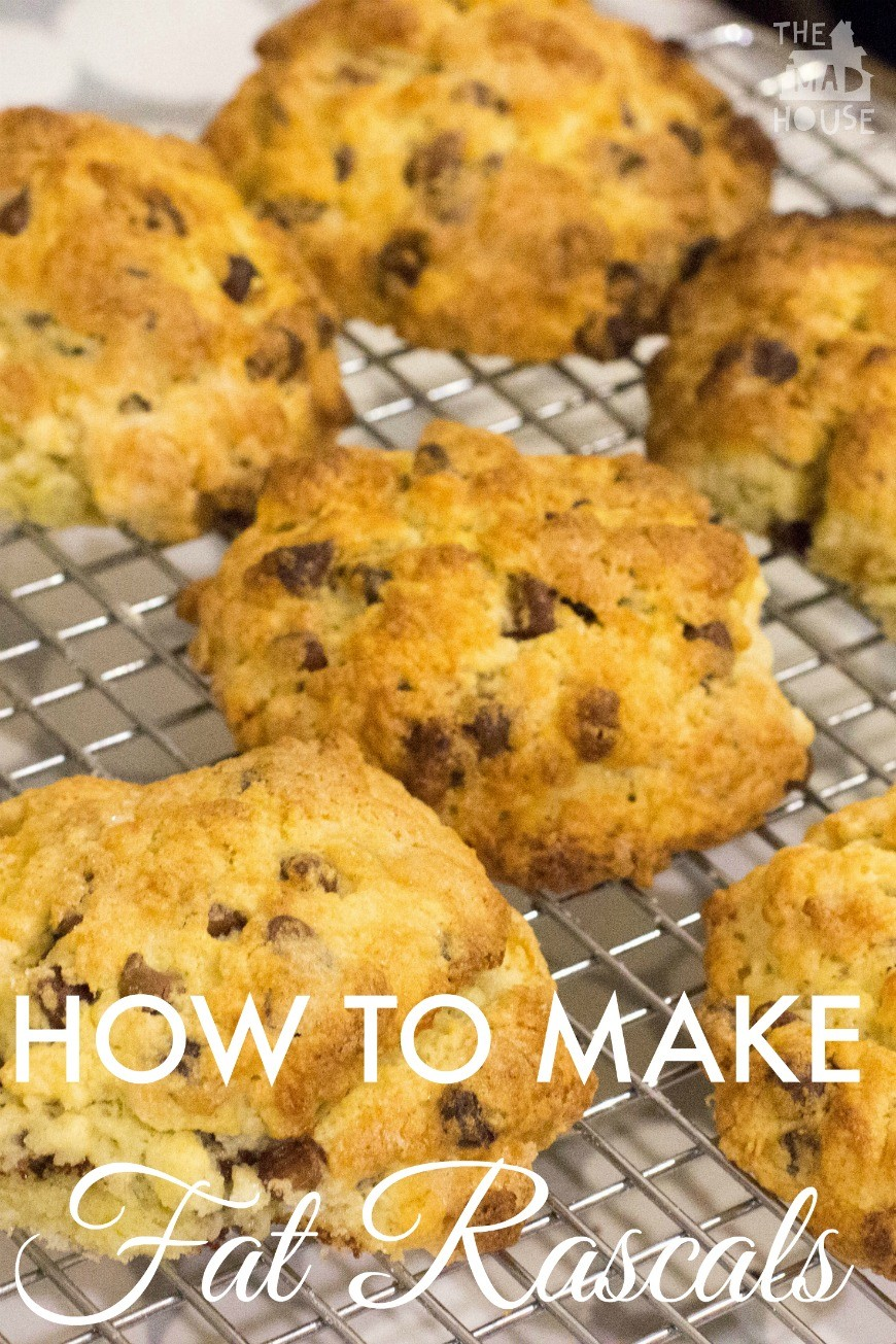 How to make Fat Rascals. Fat Racscals are a Yorkshire delicity and a scone like cake that is perfect for cooking with kids