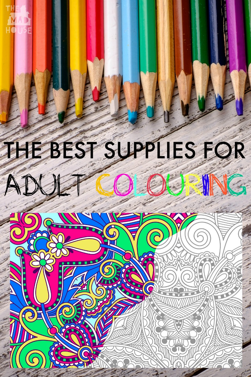 art supplies and coloring pages - photo#34