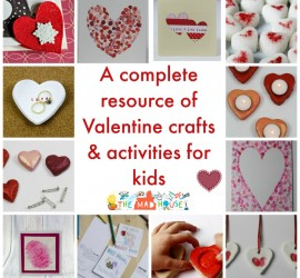 Valentine craft and activities for kids