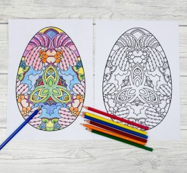 Five intricate easter egg colouring pages. Download your five free easter egg printables, these decorative Easter egg colouring pages are perfect for adults and children alike.