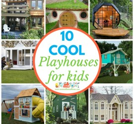 Coolest playhouses for kids square