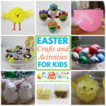 Easter Crafts, Activities and Food for Kids