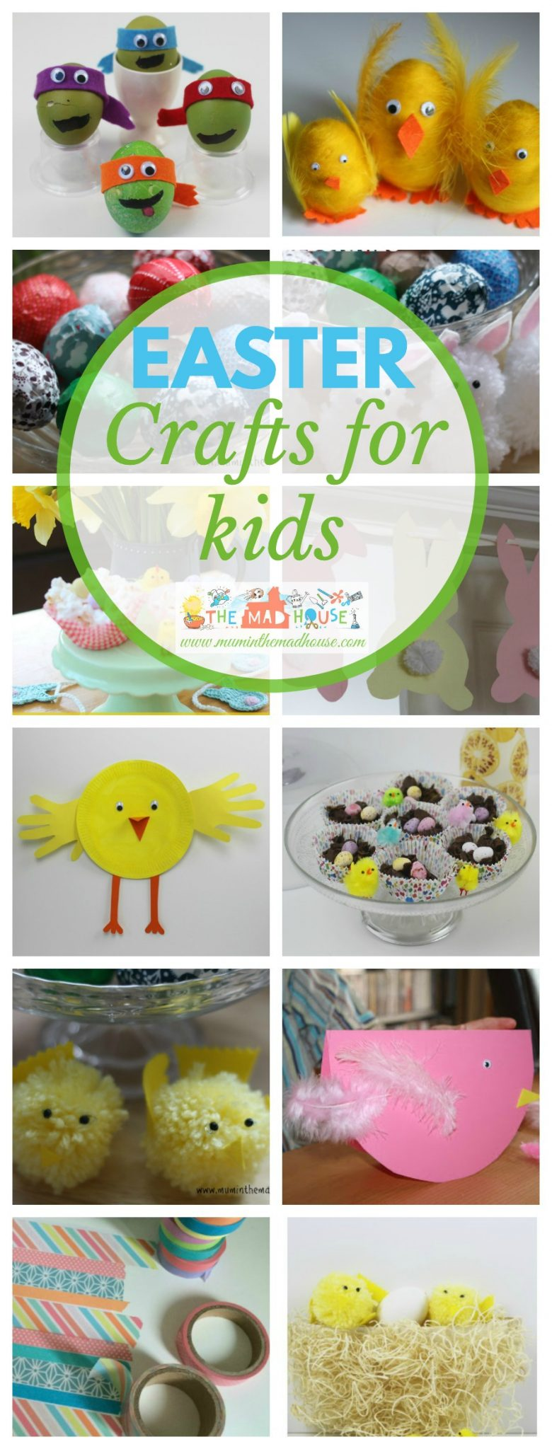 easter crafts activities and food for kids mum in the