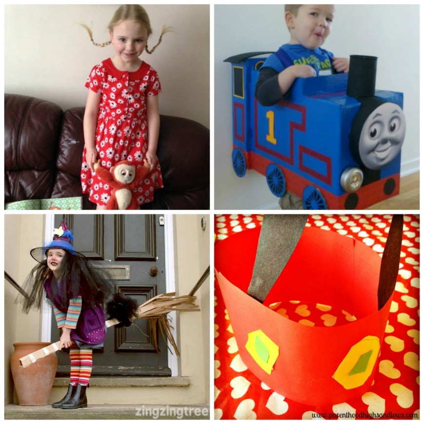Celebrate World Book Day with these simple DIY World Book Day Costume ideas. There is something for kids of all ages. Over 15 amazing DIY costume ideas perfect for school dressing up day. I adore #14
