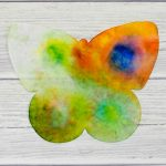 Butterfly rain art – The science of colour