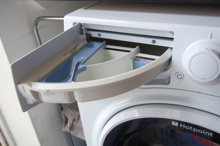 how to clean soap dispenser in samsung washing machine
