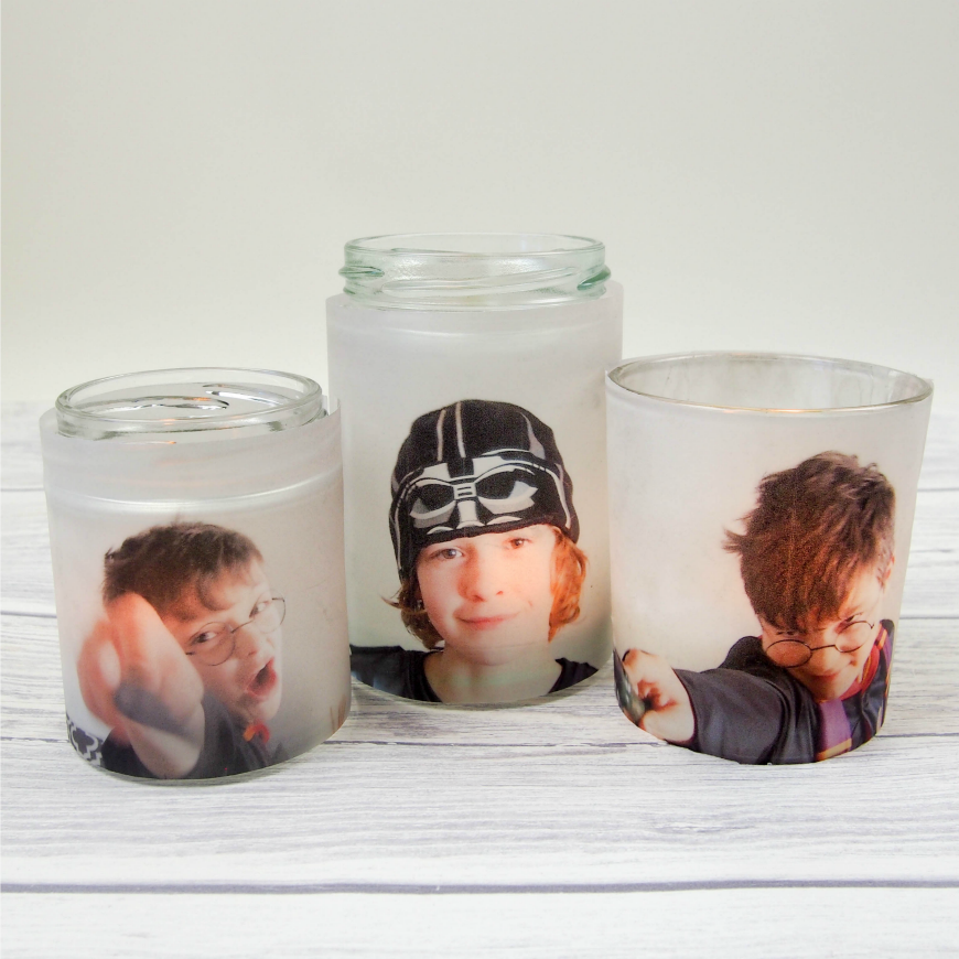 photo jar luminaries mum in the madhouse. Black Bedroom Furniture Sets. Home Design Ideas