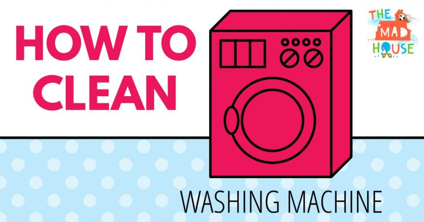 how to clean sludge from washing machine
