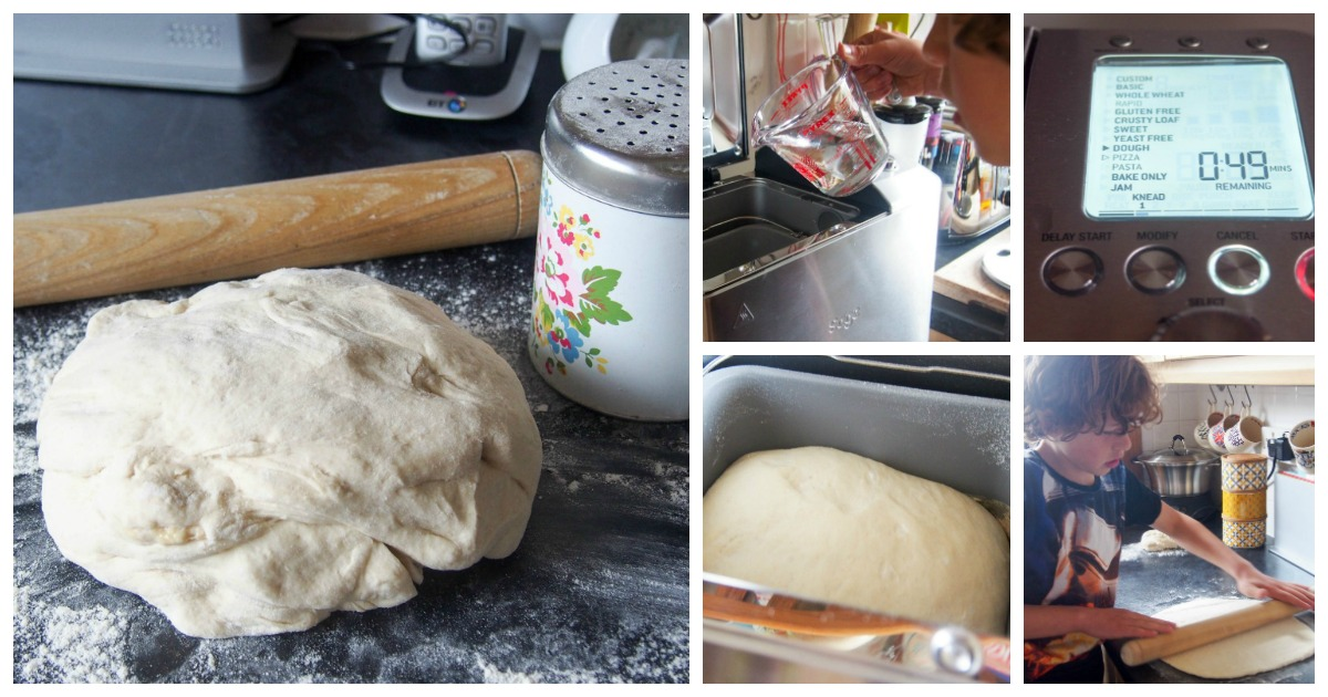 How to make the perfect bread maker pizza dough - Mum In The Madhouse