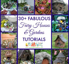 30 fairy gardens and houses square