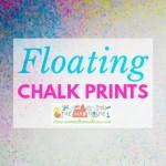 Floating chalk prints