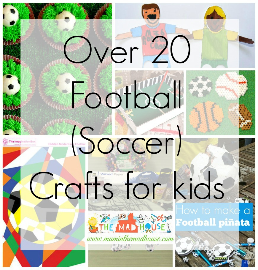 Football crafts or Soccer Crafts for the Euro's