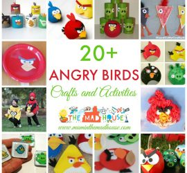 Over 20 Angry Birds Crafts and Activities for Kids