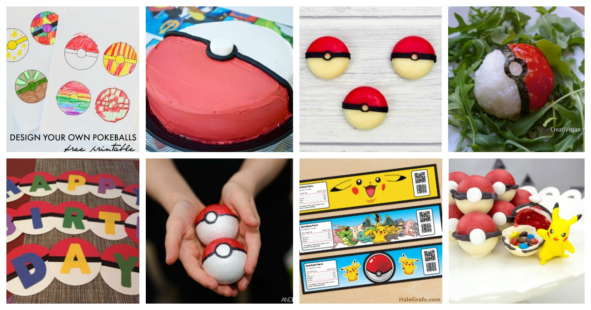 DIY Pokemon Party Ideas Mum In The Madhouse
