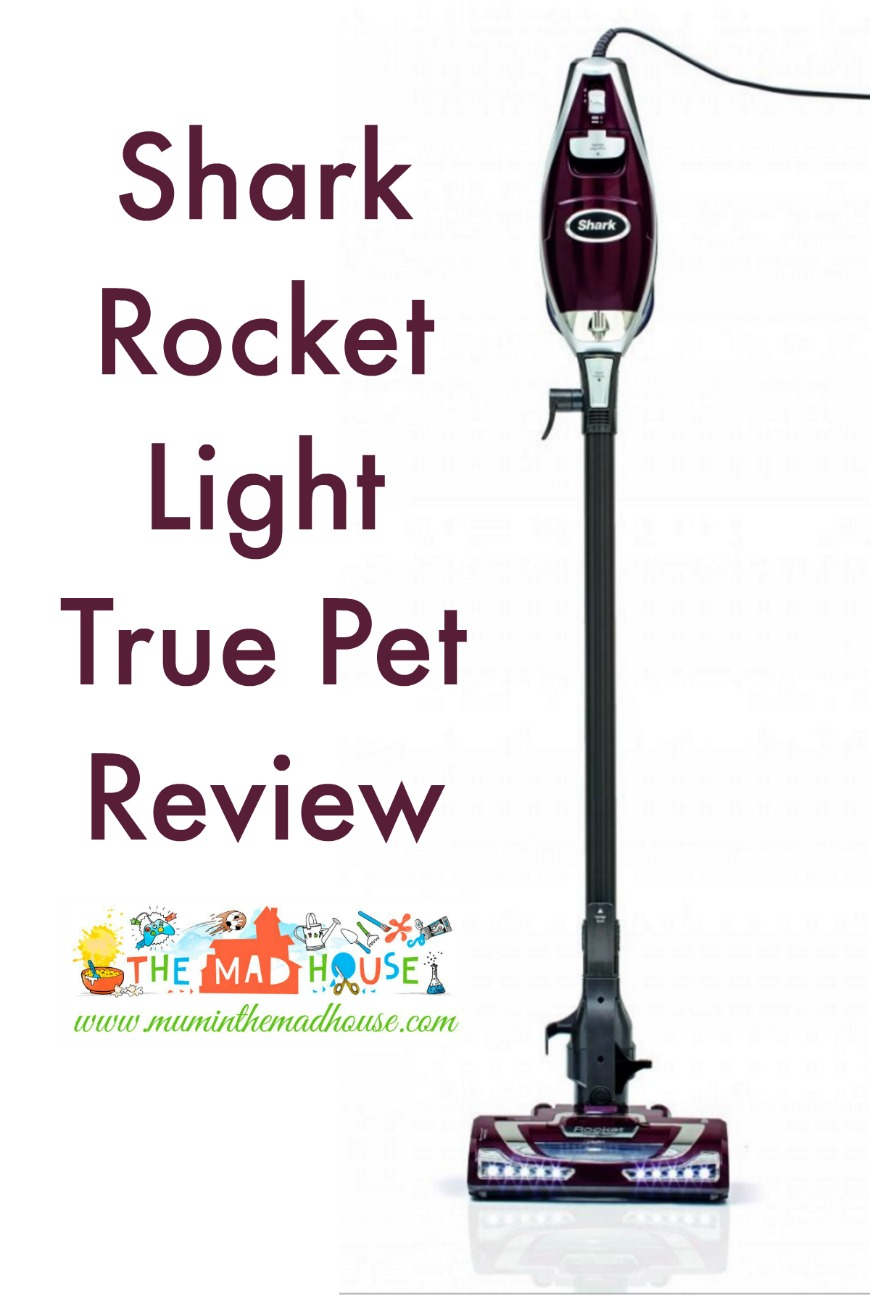 Shark Rocket Light True Pet Review Mum In The Madhouse