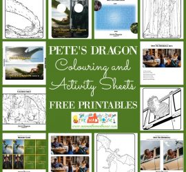 Petes dragon free printables colouring and activity sheets square
