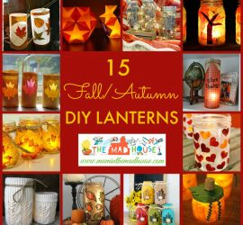 15 Fantastic Fall DIY Lanterns and Lights