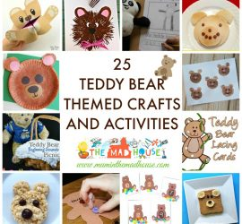 25 Teddy Bear Themed Crafts and Activities