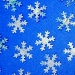 Fused Bubble Wrap Snowflakes