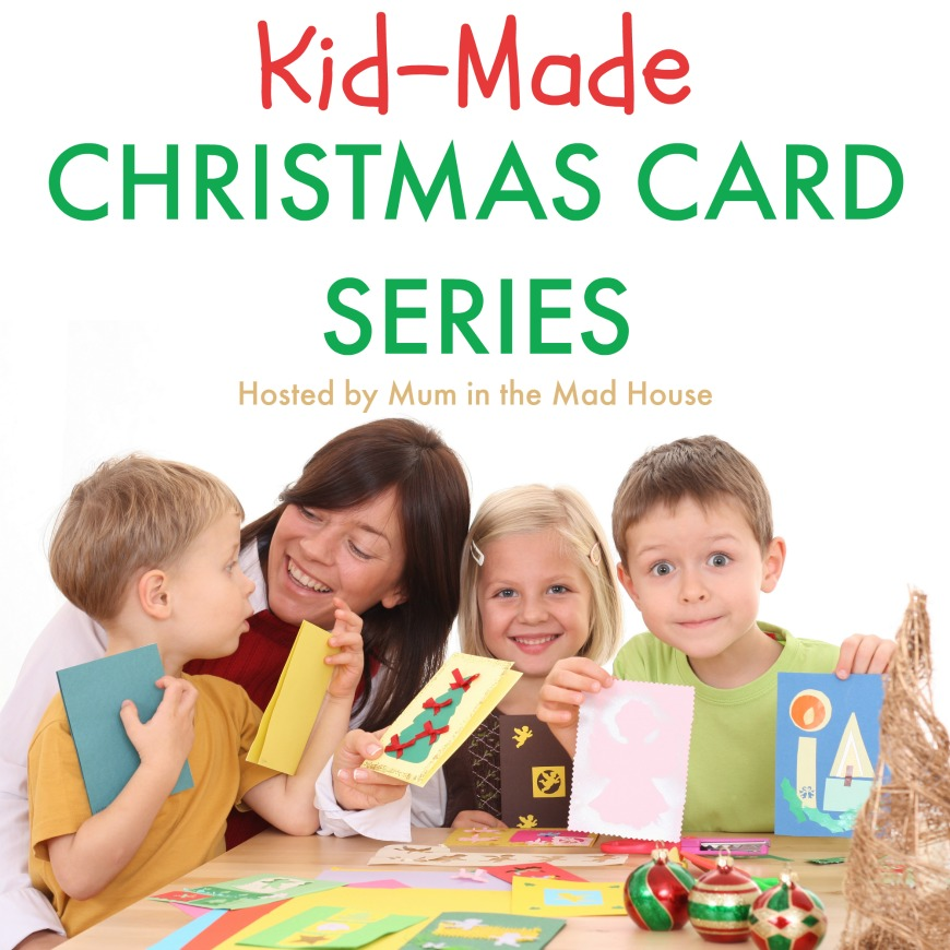 Kid Made Christmas Card Series