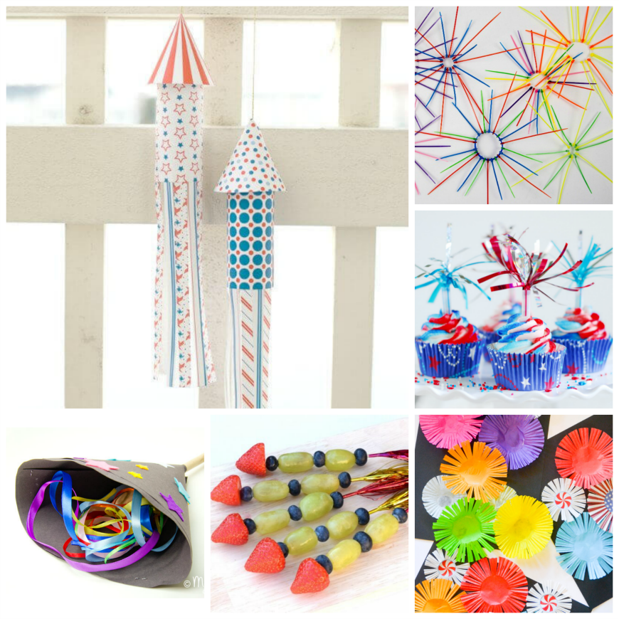 Over 45 Fabulous Firework Craft Ideas
