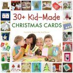 Kid Made Christmas Card Series