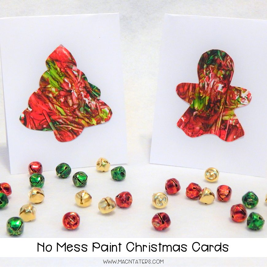 no-mess-painting-christmas-cards