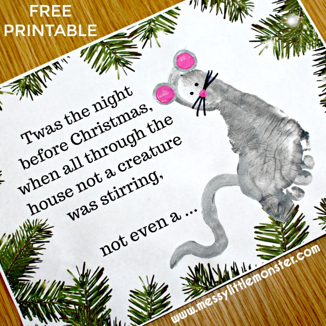 twas-the-night-before-christmas-craft-footprint-printable