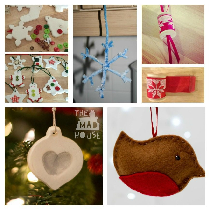 over 35 christmas decorations crafts and gifts kids can make   mum in