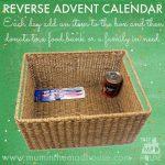 A Reverse Advent Calendar