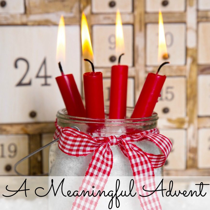 Ways to make Advent meaningful. Make the lead up to Christmas a wonderful time for all the family with these simple ways to celebrate advent.