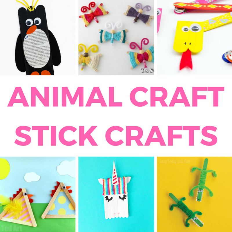 Craft Stick Crafts and Activities