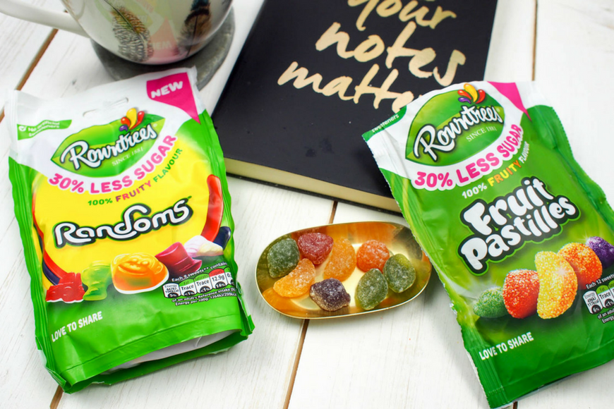 Rowntrees Reduced Sugar Sweets - A thumbs up from The Mad House